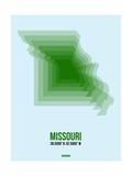 Missouri Radiant Map 2 Prints by  NaxArt
