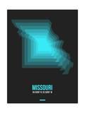 Missouri Radiant Map 5 Prints by  NaxArt