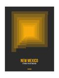 New Mexico Radiant Map 4 Prints by  NaxArt