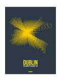 Dublin Radiant Map 4 Prints by  NaxArt