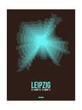 Leipzig Radiant Map 2 Prints by  NaxArt