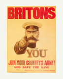 Britons: Your Country Needs You! Giclee Print by  The Vintage Collection