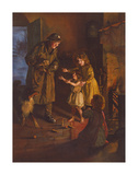 Rescued Premium Giclee Print by Arthur Elsley