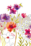 Croquis Floral IV Giclee Print by Sandra Jacobs