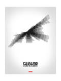 Cleveland Radiant Map 4 Posters by  NaxArt