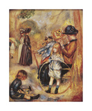 In the Luxembourg Gardens Premium Giclee Print by Pierre-Auguste Renoir
