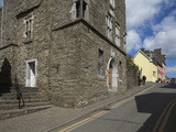 15th Century Desmond Castle  And  International Museum of Wine Cork Street Photographic Print by Green Light Collection