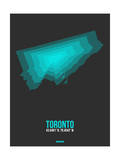 Toronto Radiant Map 2 Prints by  NaxArt