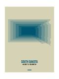 South Dakota Radiant Map 2 Posters by  NaxArt