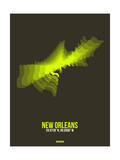 New Orleans Radiant Map 1 Prints by  NaxArt