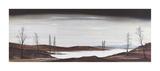 Silver Lake Premium Giclee Print by Ron Folland