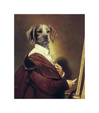 Au Portrait Premium Giclee Print by Thierry Poncelet