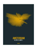 Amsterdam Radiant Map 3 Prints by  NaxArt