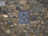 Masonic Coat of Arms, Masonic Hall Exterior, Limerick City, Ireland Photographic Print by Green Light Collection