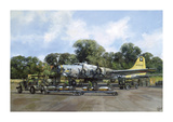Loading Up Premium Giclee Print by Clive Madgwick