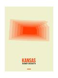 Kansas Radiant Map 1 Posters by  NaxArt