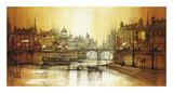 Le Vieil Pont Premium Giclee Print by Ron Folland