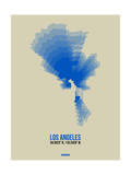 Los Angeles Radiant Map 2 Posters by  NaxArt