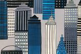 City Sights I Giclee Print by Sandra Jacobs