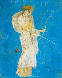 Pompeii Fresco I Giclee Print by  The Vintage Collection