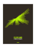 Cleveland Radiant Map 1 Prints by  NaxArt