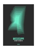 Mississippi Radiant Map 4 Art by  NaxArt