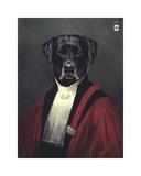 The Judge Giclee-tryk i høj kvalitet af Thierry Poncelet
