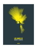 Los Angeles Radiant Map 1 Prints by  NaxArt