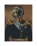 Royal Officer Premium Giclee Print by Thierry Poncelet