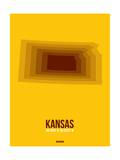 Kansas Radiant Map 2 Prints by  NaxArt