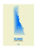 Delaware Radiant Map 1 Posters by  NaxArt