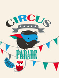 Circus Parade II Giclee Print by Laure Girardin-Vissian