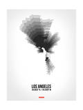 Los Angeles Radiant Map 8 Posters by  NaxArt