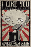 Family Guy - Stewie Propaganda Prints