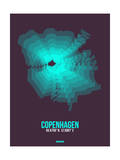 Copenhagen Radiant Map 2 Posters by  NaxArt