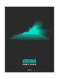 Virginia Radiant Map 6 Posters by  NaxArt