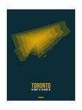 Toronto Radiant Map 3 Posters by  NaxArt