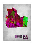 Hillcrest California Poster by  NaxArt