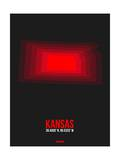 Kansas Radiant Map 6 Prints by  NaxArt