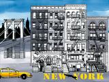 Metropol II Giclee Print by Sandra Jacobs