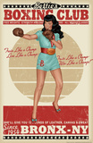Bettie Page Boxing Club Photo