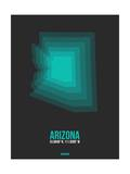 Arizona Radiant Map 5 Posters by  NaxArt