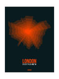 London Radiant Map 3 Posters by  NaxArt