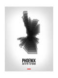 Phoenix Radiant Map 6 Prints by  NaxArt