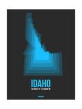 Idaho Radiant Map 4 Posters by  NaxArt