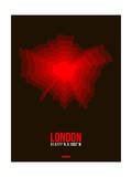 London Radiant Map 2 Art by  NaxArt