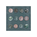 Roman Coins II Art by  The Vintage Collection