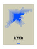 Denver Radiant Map 2 Prints by  NaxArt