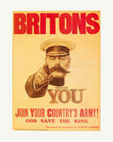 Britons: Your Country Needs You! Print by  The Vintage Collection