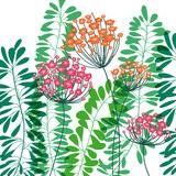 Flower Applique IV Giclee Print by Laure Girardin-Vissian